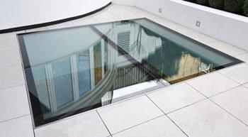 Стеклянный потолок — модель 1