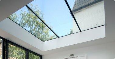 Стеклянный потолок — модель 2