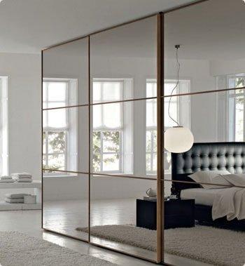 Зеркальные перегородки