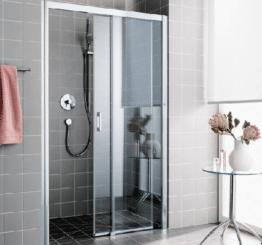 Как выбрать для душа стеклянные двери