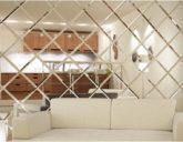 Как можно использовать декоративные зеркальные панно