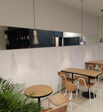 Проект «Зеркала в кафе на ул Маяковская»