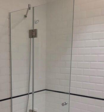 Проект «Стеклянное ограждение на ванну из бельгийского закаленного стекла»