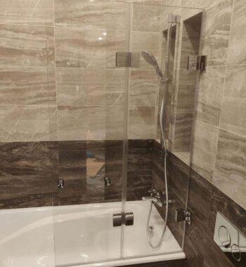 Проект «Экран на ванну из закаленного стекла»