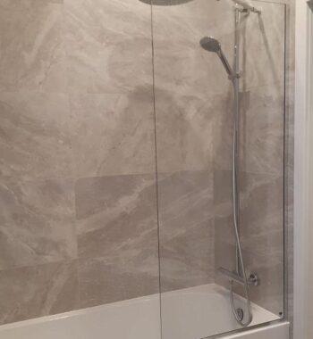 Проект « Экран на ванну из бельгийского закаленного стекла AGC 8 мм»
